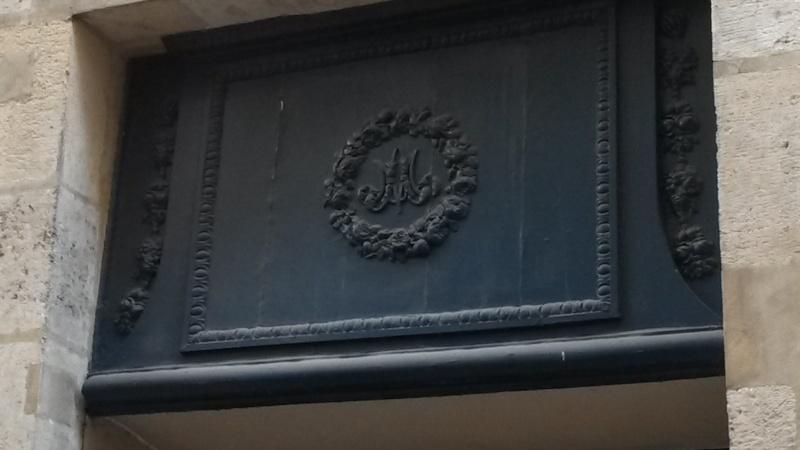 Le monogramme ou chiffre de Marie-Antoinette Image25