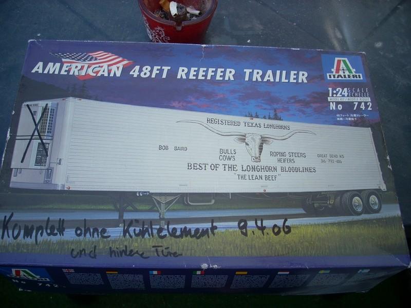 American 48 FT Reefer Trailer von Italeri 32653210