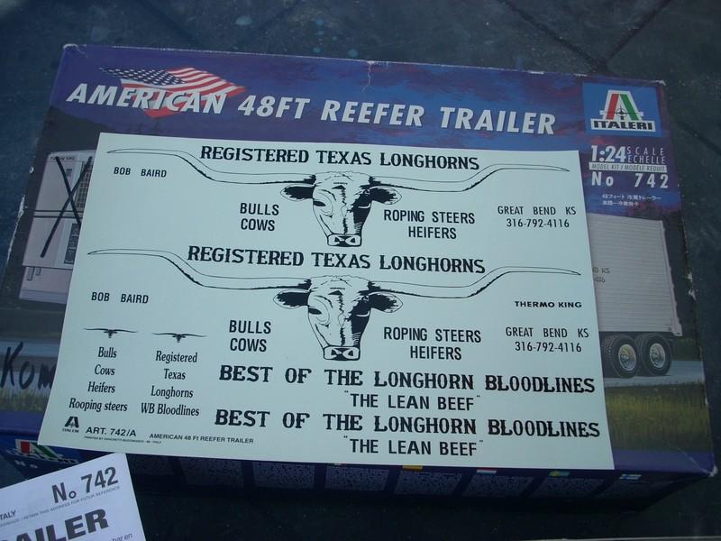 American 48 FT Reefer Trailer von Italeri 65303910