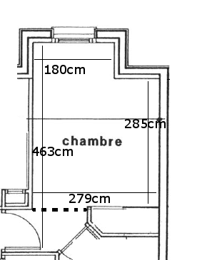"""Chambre taupe et """"lin"""" Chambr10"""