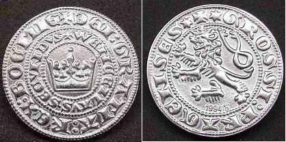 Gros de Prague de Charles 1er de Bohème 28794r10