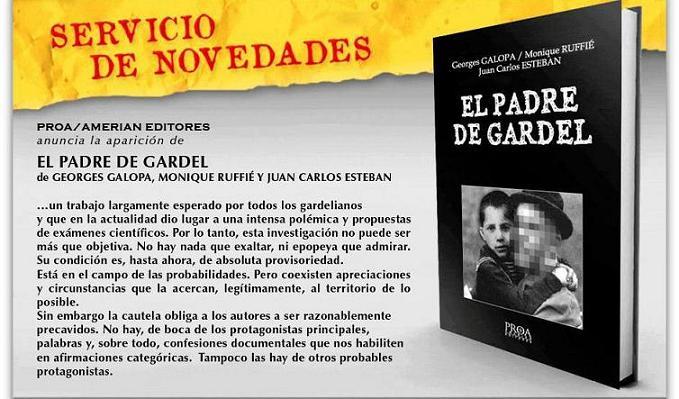 Presentación y prólogo del libro EL PADRE DE GARDEL, de Juan Carlos Esteban, Monique Ruffié y Georges Galopa Padre-14
