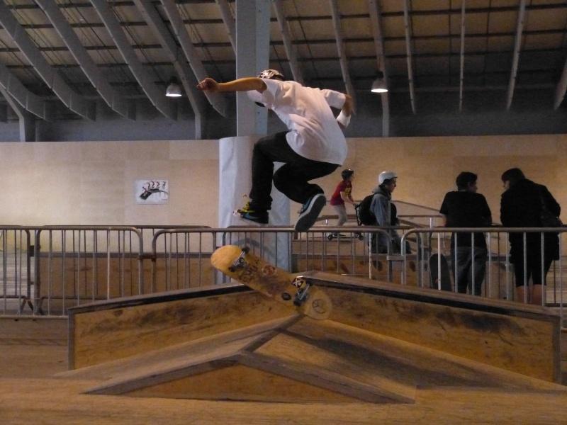 Contest skate (+ session en skate parc extérieur N&B) P1000810