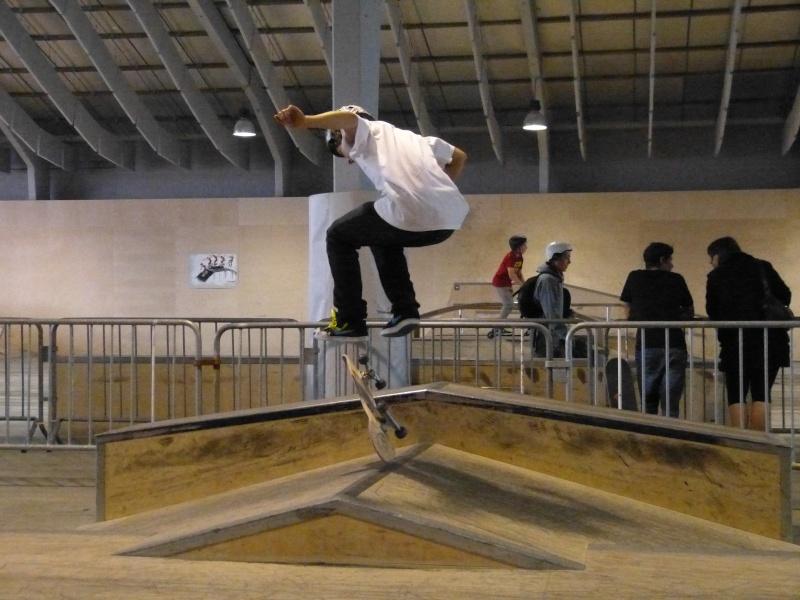 Contest skate (+ session en skate parc extérieur N&B) P1000811