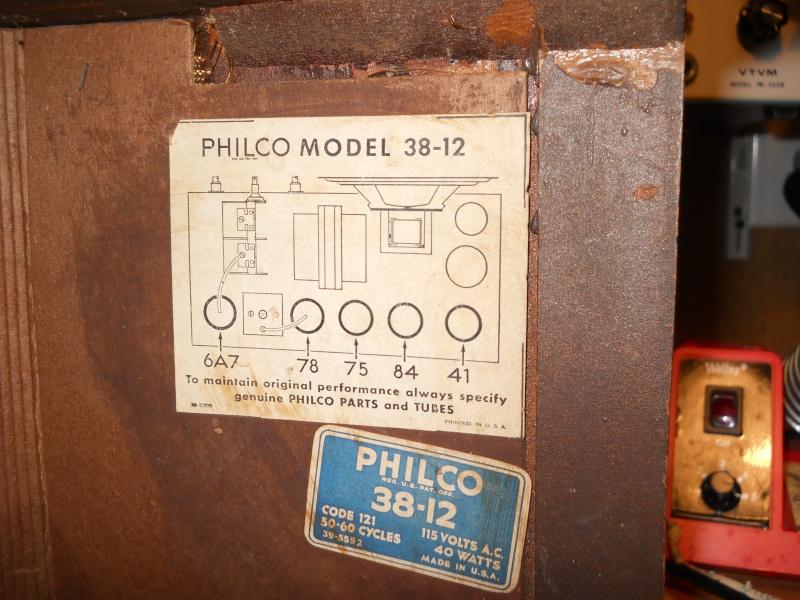 Philco 38-12 00912