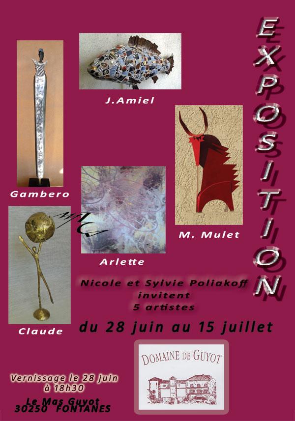 Exposition à Fontanes (30) Affich10