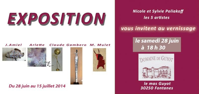 Exposition à Fontanes (30) Invita10
