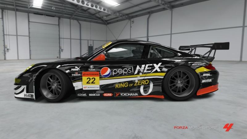 [Livrea FM4] Porsche 911 GT3 RSR '11 - Team Pepsi Nex Zero Porsch11