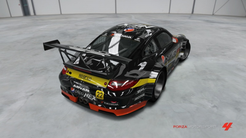 [Livrea FM4] Porsche 911 GT3 RSR '11 - Team Pepsi Nex Zero Porsch12