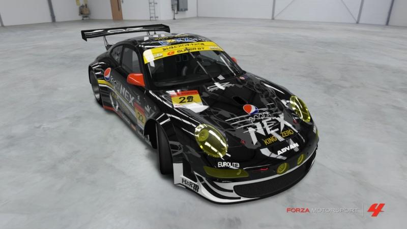 Porsche - 911 GT3 RSR '11 - Team Pepsi Nex Zero Porsch13