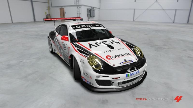 [Livrea FM4] Porsche 911 GT3 Cup '11 - Team Apex Porsch22