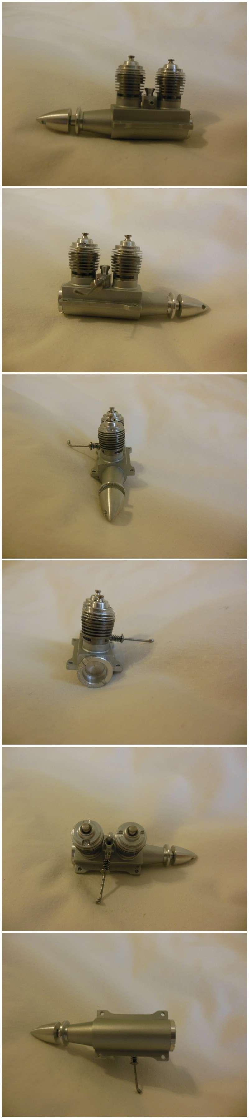 Rasant Twin Glow engines 0.98cc x 2 Rasant11