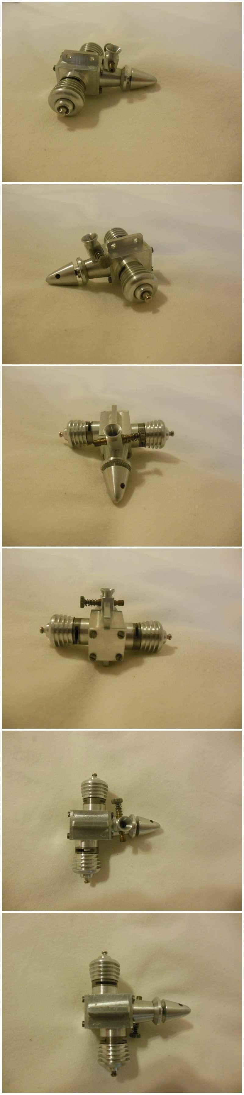 Rasant Twin Glow engines 0.98cc x 2 Rasant12
