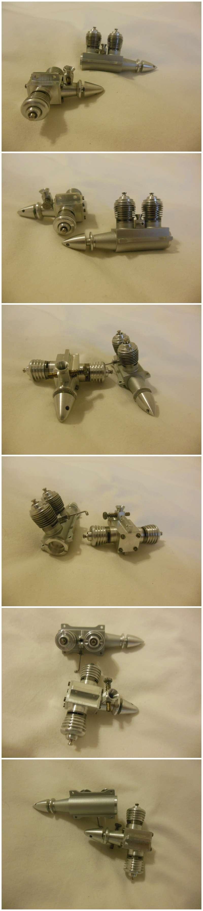 Rasant Twin Glow engines 0.98cc x 2 Rasant13