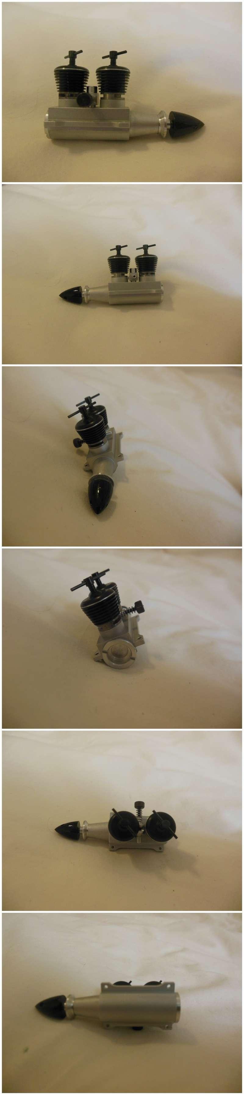 Rasant Inline Twin Diesel engines .098cc x 2 Rasant16