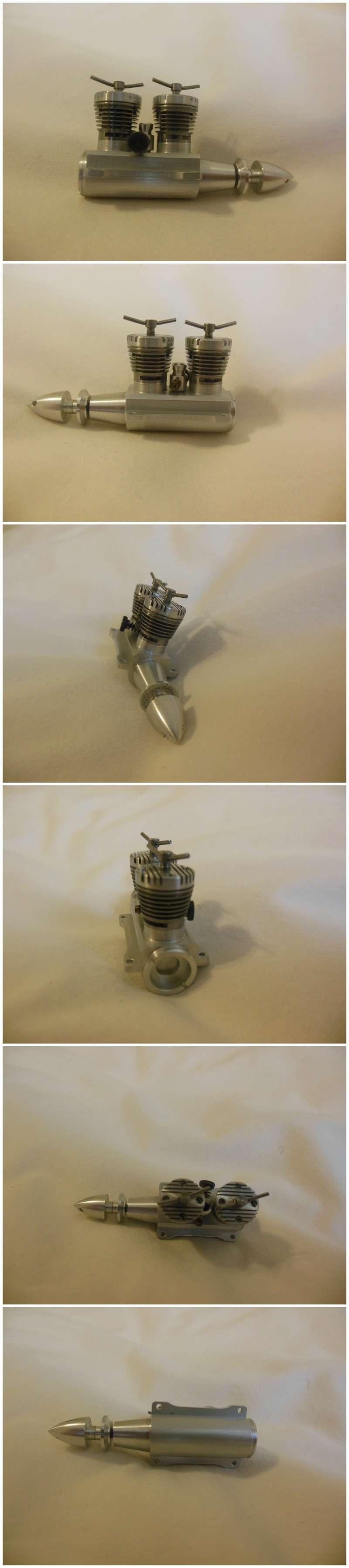 Rasant Inline Twin Diesel engines .098cc x 2 Rasant18