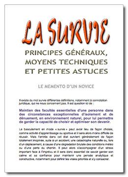 Le mémento de la survie de Luc Chaumont Couv-s10