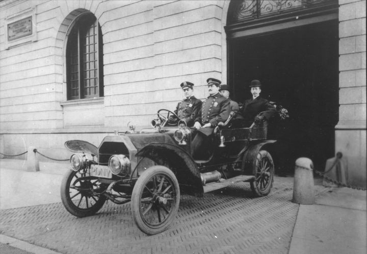 NYPD OLD véhicules  L-nypd10