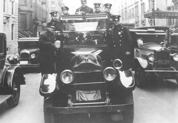 NYPD OLD véhicules  L-nypd11