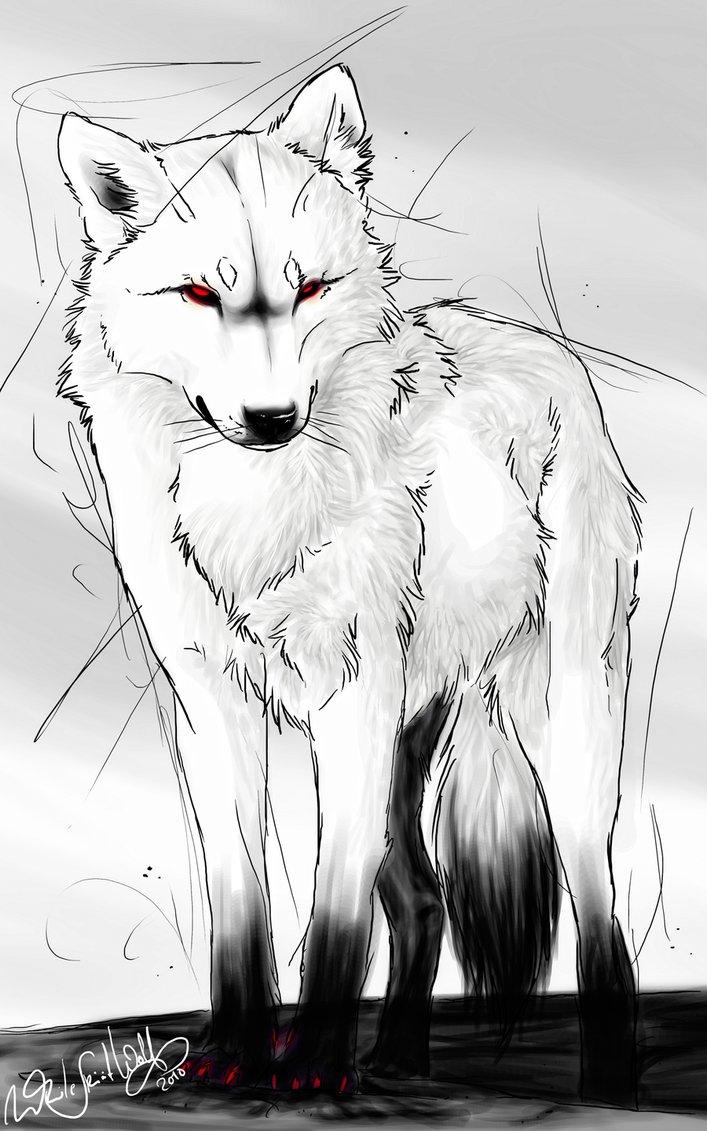 Mondwolf - Wenn der Mond den Himmel verlässt _white12
