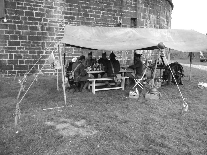 France 1940 - troupes en casernement dans la citadelle de Belfort. Barnum10