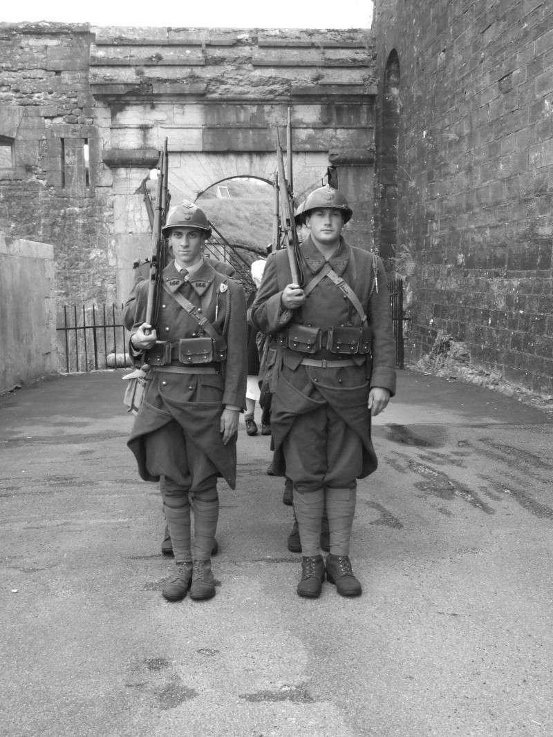 France 1940 - troupes en casernement dans la citadelle de Belfort. Dyfily10