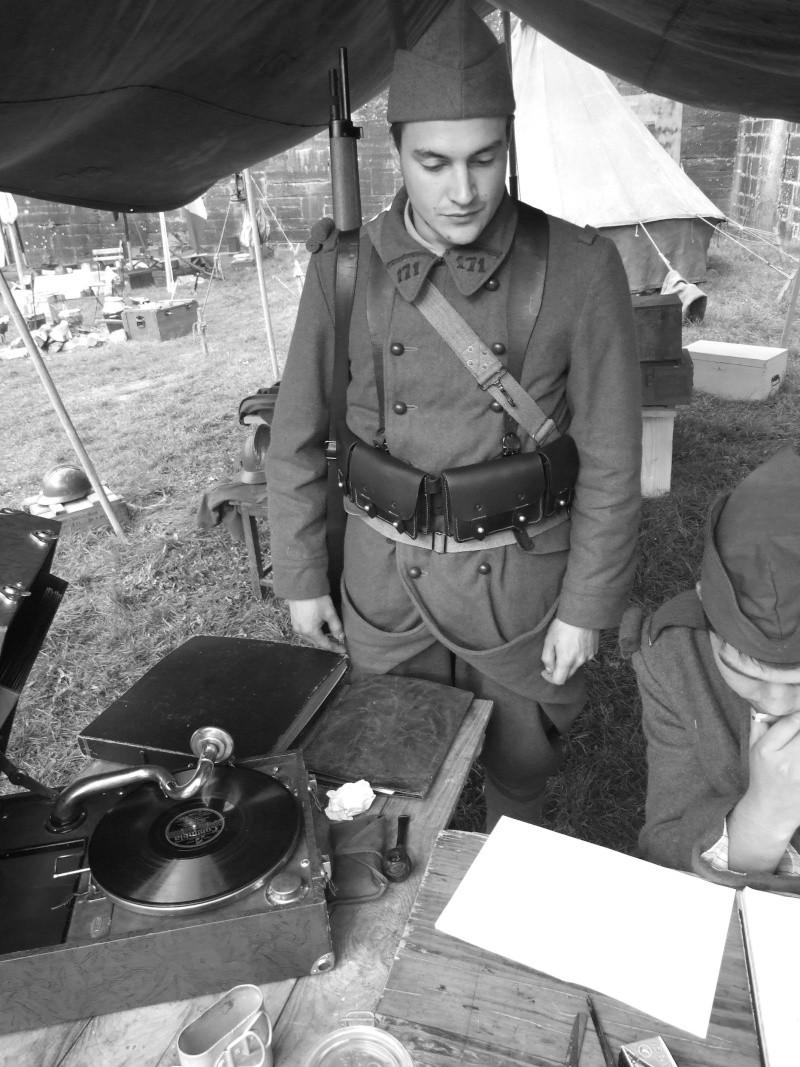 France 1940 - troupes en casernement dans la citadelle de Belfort. Flo10