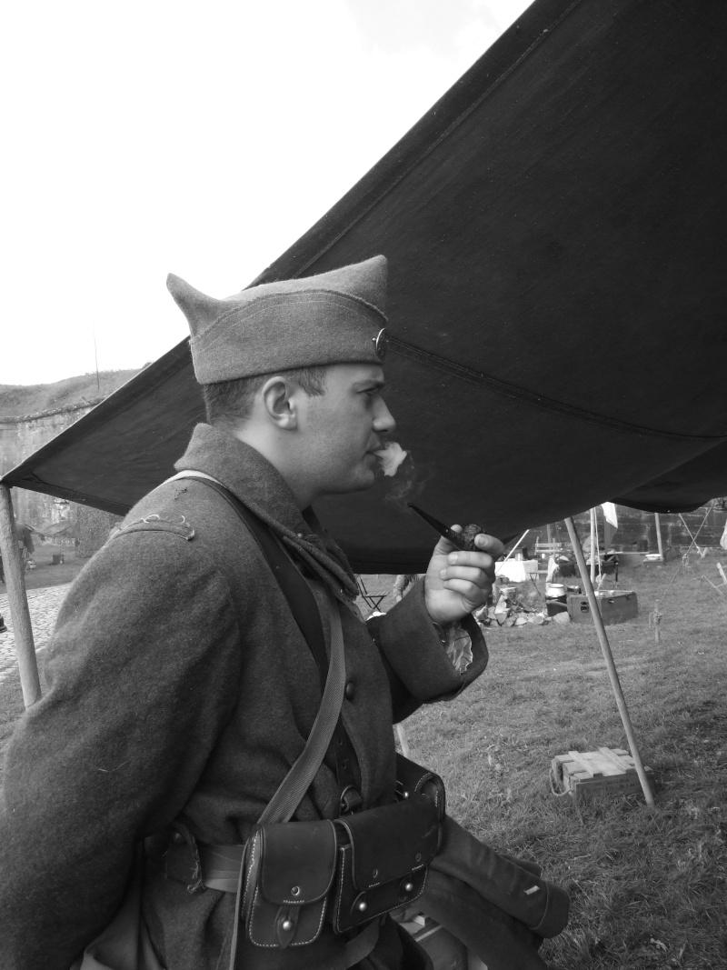 France 1940 - troupes en casernement dans la citadelle de Belfort. Jhf_pi10