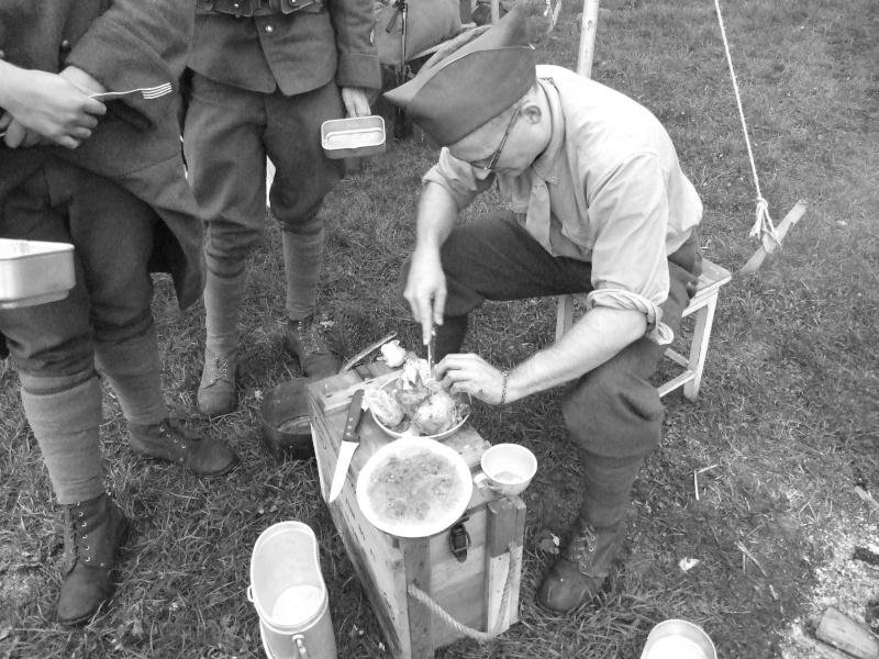 France 1940 - troupes en casernement dans la citadelle de Belfort. Mo_cui10