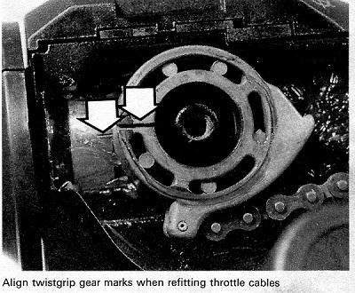 throttle cable 1985 bmw k100 Twistg16