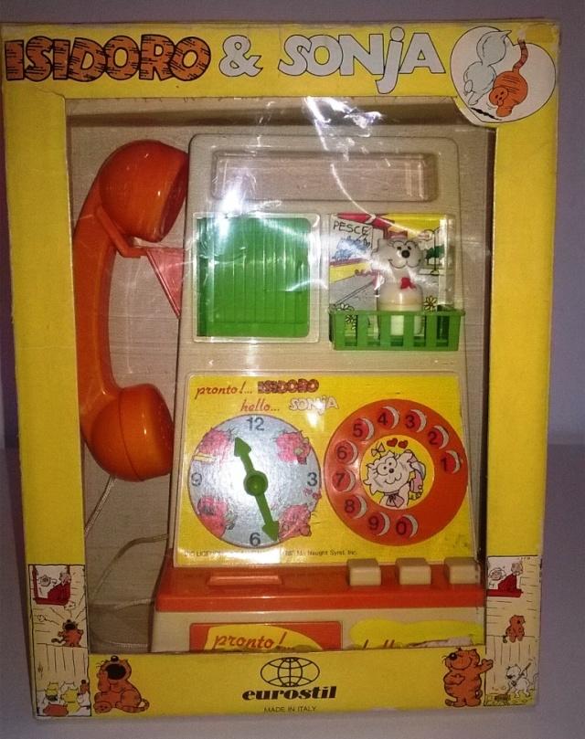 Isidoro e Sonja telefono giocattolo Isidor10