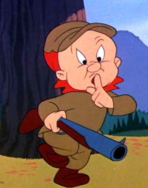 Ouverture de la chasse... snif Elmer_10