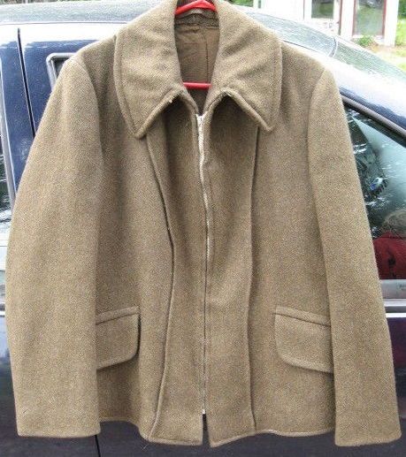 Canadian jacket on 1943  110