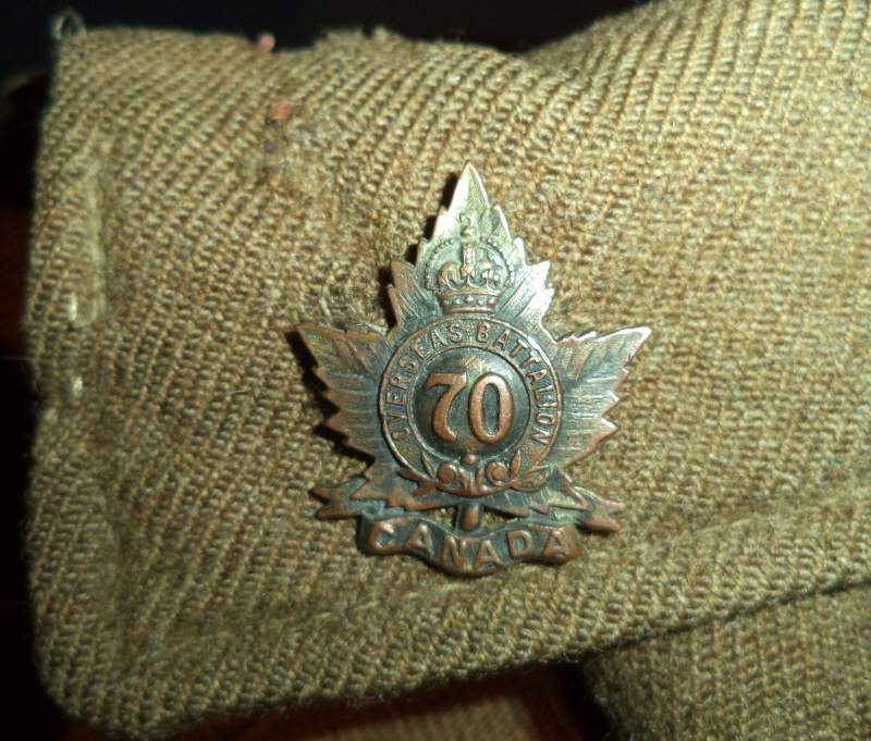70th Overseas Battalion, Canadian Expeditionary Forces, tunic 2013-031