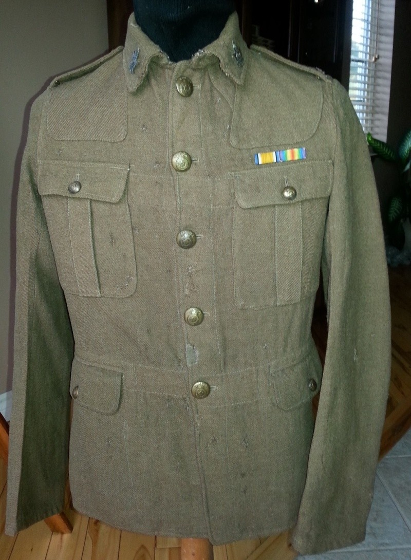 70th Overseas Battalion, Canadian Expeditionary Forces, tunic 2014-135