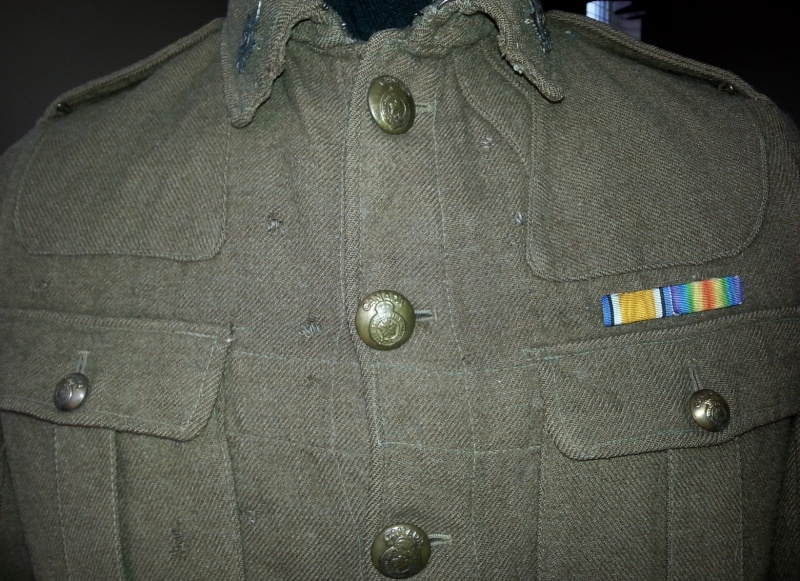 70th Overseas Battalion, Canadian Expeditionary Forces, tunic 2014-138