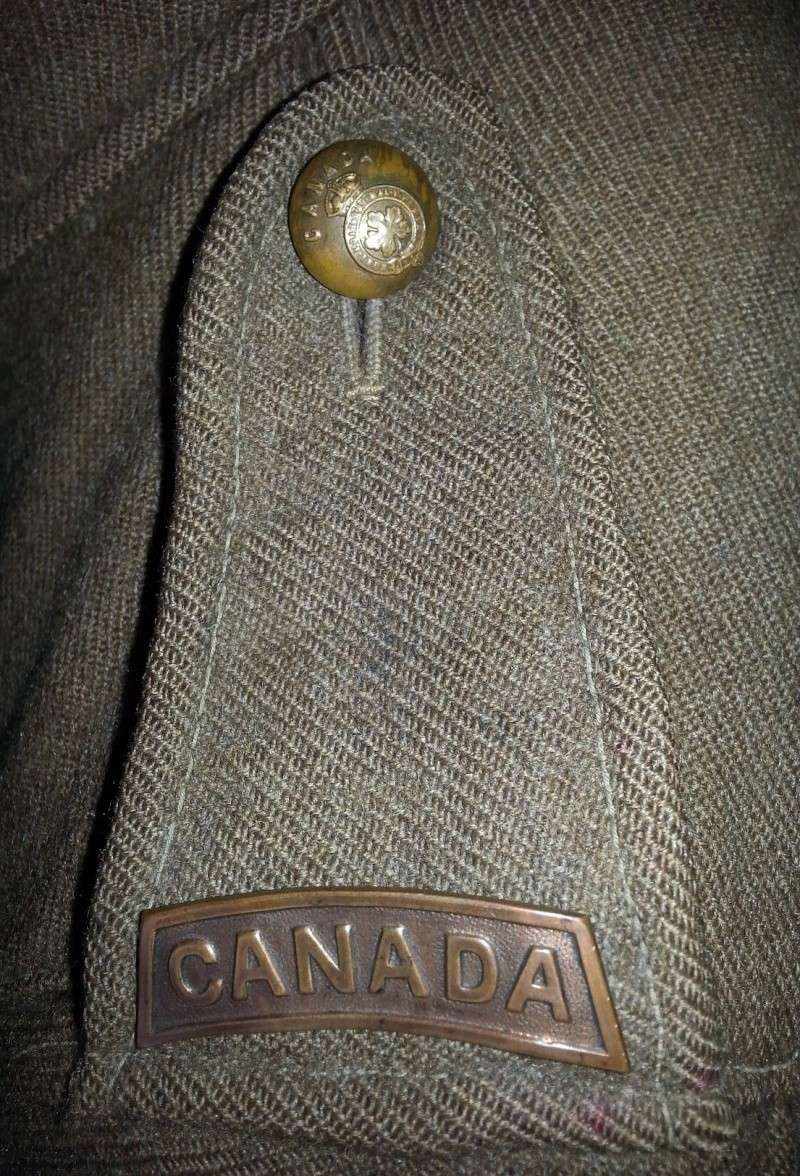 70th Overseas Battalion, Canadian Expeditionary Forces, tunic 2014-140