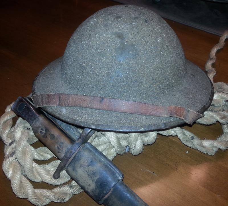Helmet, Brodie Mark I 2014-143