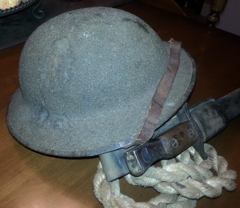 Helmet, Brodie Mark I 2014-144