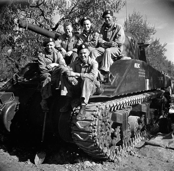 Canadian tank crew coverhall A1709410