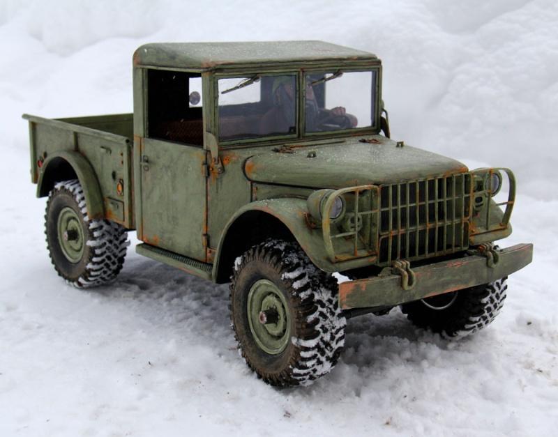 New Dodge M37 Power Wagon Pick-Up 1/10 SG. Dodgem10