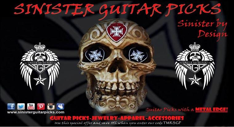 Sinister Guitar Picks (Guitar Picks With A Metal Edge) Sgp10