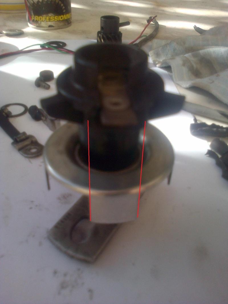 Montage d'allumeur à capteur de solara sur moteur de simca rallye . Img-2162