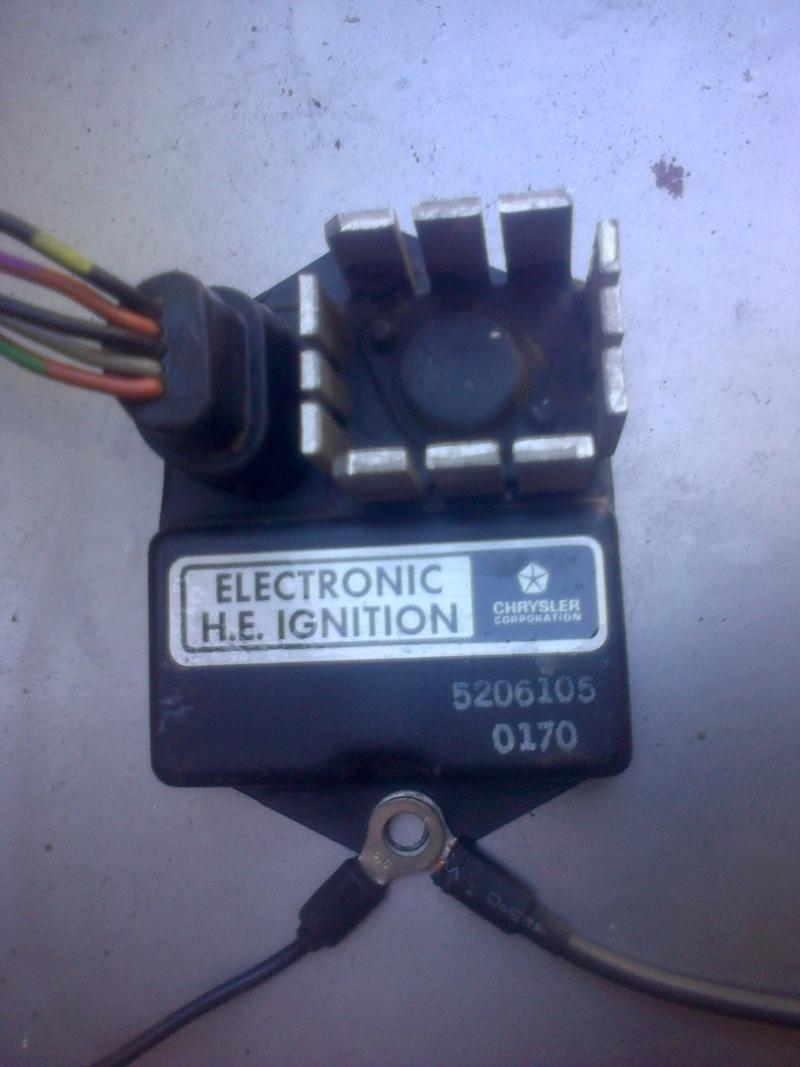 Montage d'allumeur à capteur de solara sur moteur de simca rallye . Img-2177