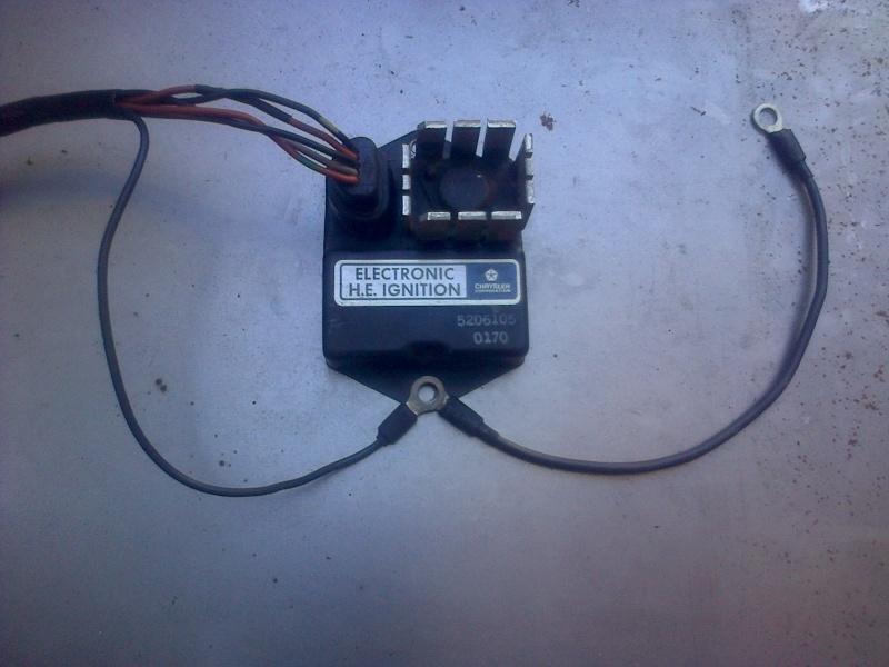 Montage d'allumeur à capteur de solara sur moteur de simca rallye . Img-2180