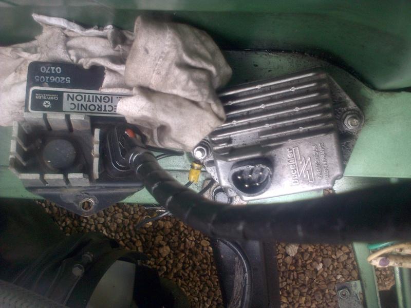 Montage d'allumeur à capteur de solara sur moteur de simca rallye . Img-2183