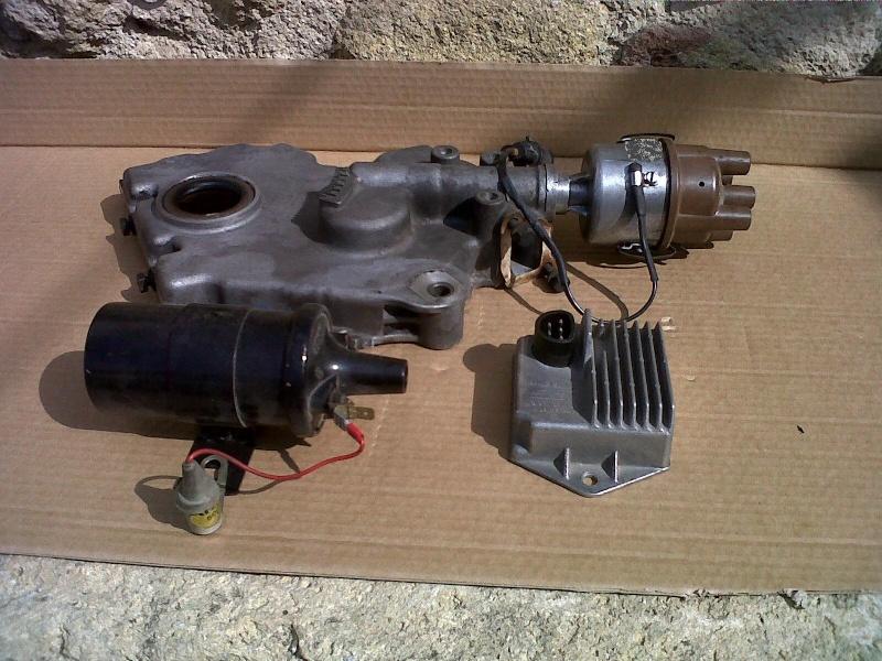 Montage d'allumeur à capteur de solara sur moteur de simca rallye . Img00410