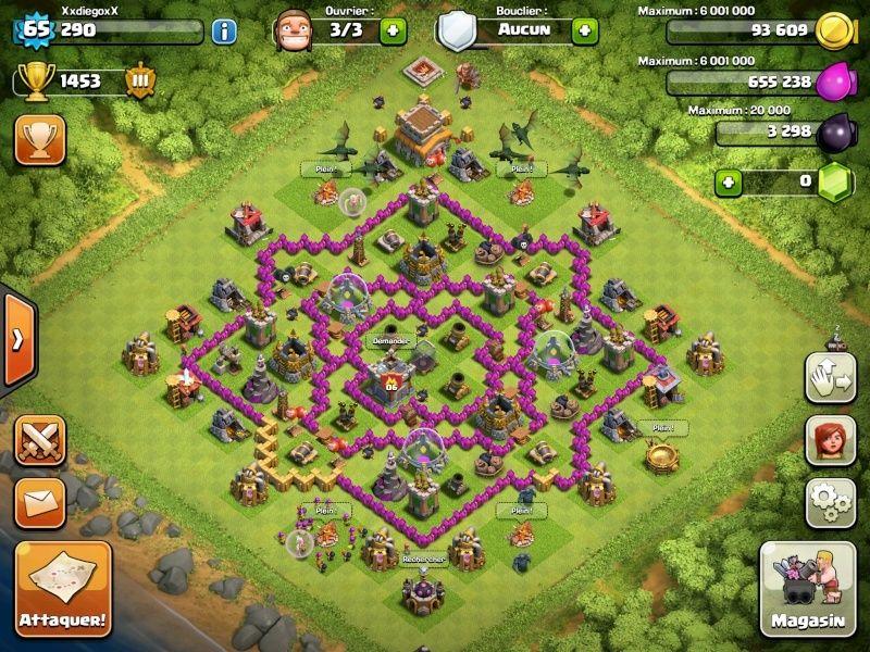 [AIDE] Clash Of Clans HDV 8 FARMING !! Img_0512