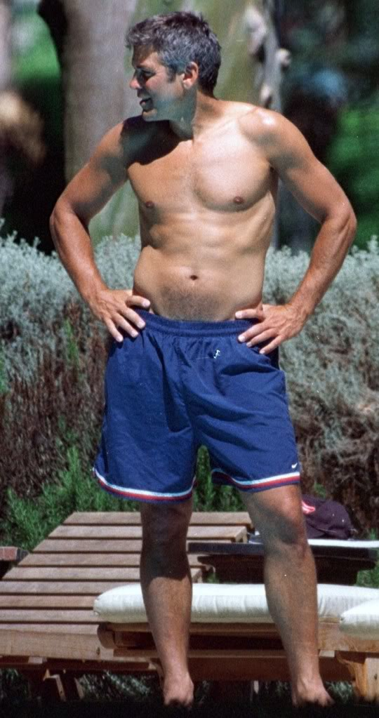 George Clooney one of the sexiest men on the planet G-boar10
