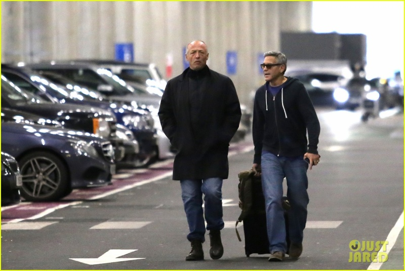 George Clooney Arrives In London, 10-24-14 G-giol10